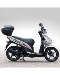 Suzuki Stickerset Voor Zwart En Zilver Adress 110 (15-)