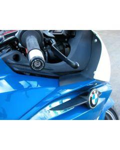 R&G BE0025BK Stuurdoppen Zwart BMW K1200R/S