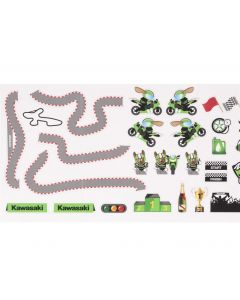 Kawasaki Muur Stickers Circuit