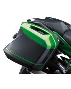Kawasaki Zijkoffer Cover Set 60r Emerald Blazed Green