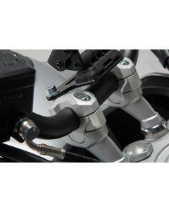 SW-Motech Stuurverhogers 28 mm Sturen - H=20 mm - Zilver