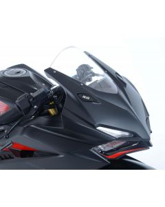 R&G MBP0026BK Spiegelafdekplaat set Zwart Honda CBR250RR 17-