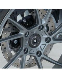 R&G SBP0002BK Achteras Afdekplaat Zwart BMW R1200GS 13-