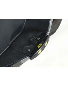 R&G TP0005BK Treeplank Sliders Zwart BMW C600 SPORT