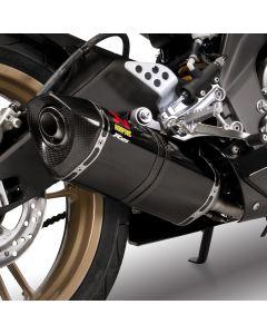 Akrapovic Racing-uitlaatsysteem Carbon Yamaha YZF-R125 (08-12)
