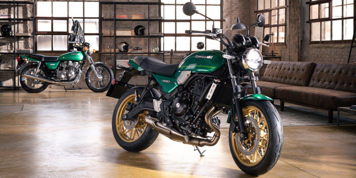De nieuwe Kawasaki Z650RS 2022