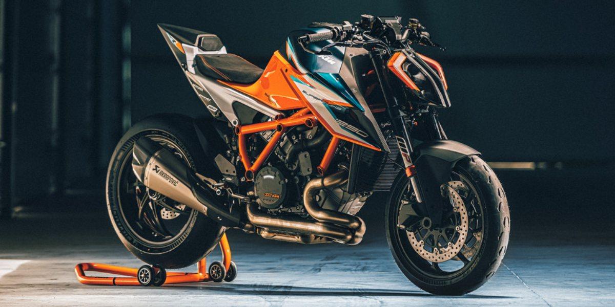 Nieuwe KTM 1290 Super Duke RR 2021