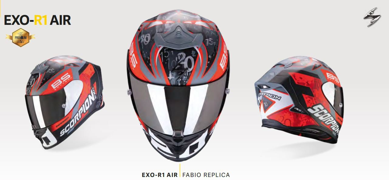SCORPION EXO-R1 AIR FABIO REPLICA