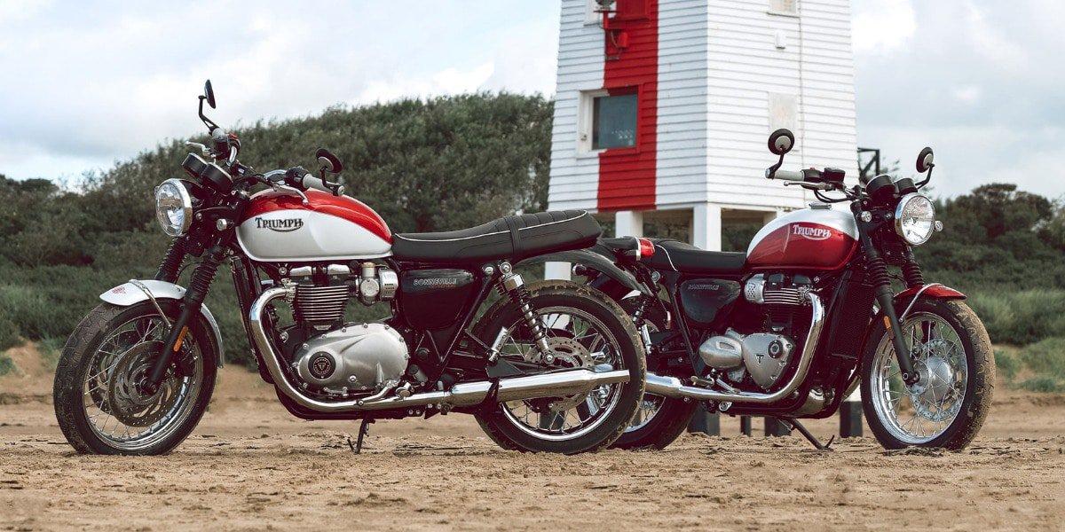 De nieuwe Triumph Bonneville T120 en Bonneville T100