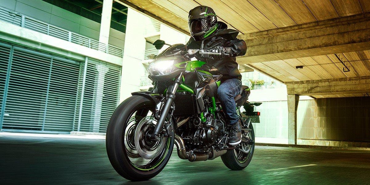 De nieuwe Kawasaki Z650 2022