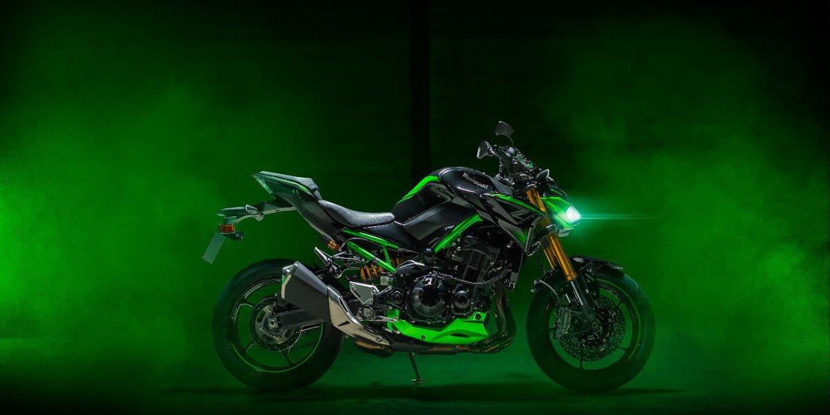 De nieuwe Kawasaki Z900 SE 2022