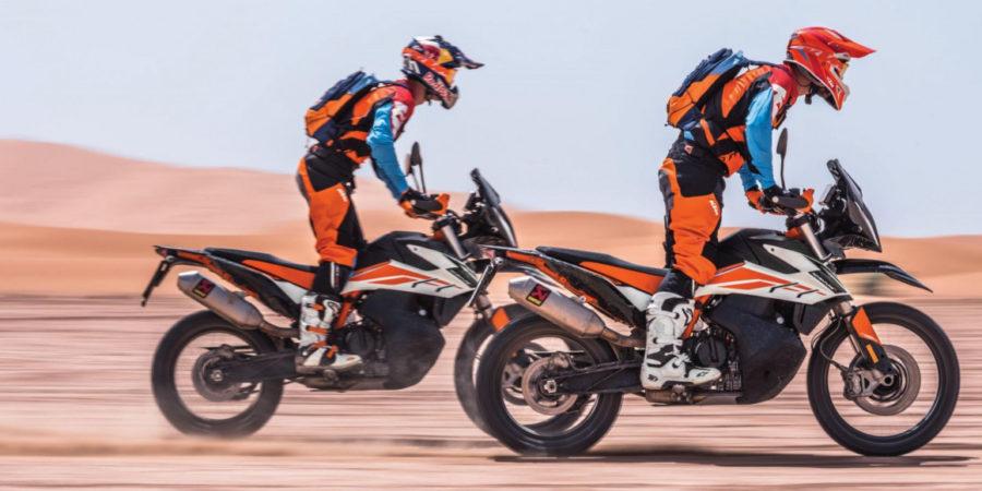 De Nieuwe KTM 790 Adventure en KTM 790 Adventure R