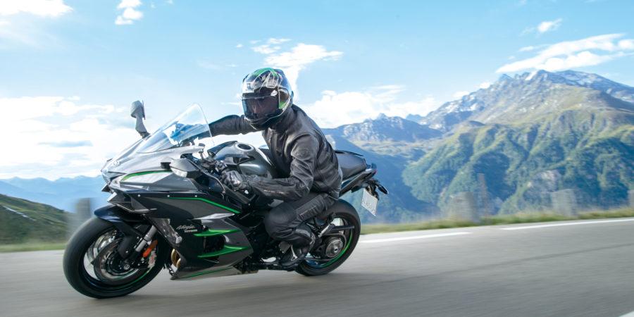 De Nieuwe Kawasaki H2 SX SE+