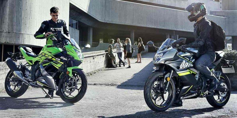 De Nieuwe Kawasaki Ninja en Z125