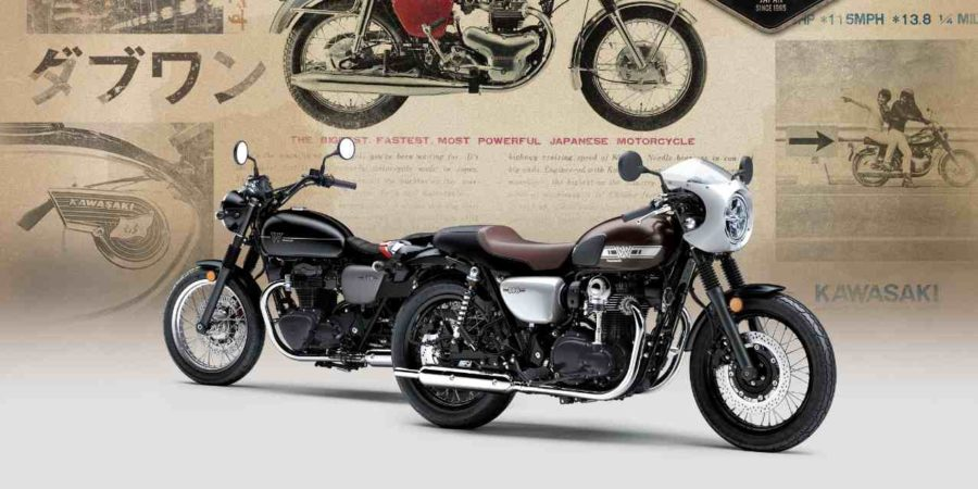 De Nieuwe Kawasaki W800