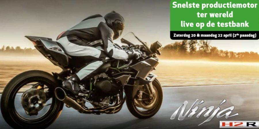 Paasweekend 2019: Kawasaki Green Days & korting op motorhelmen